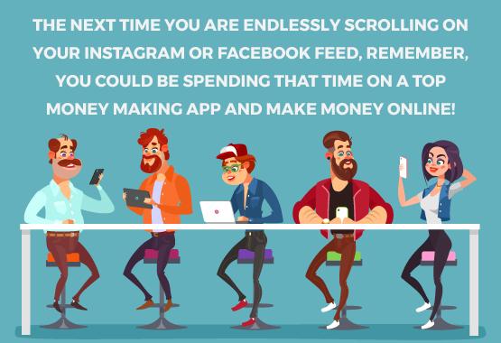 Make money on mobile - Install top money making apps