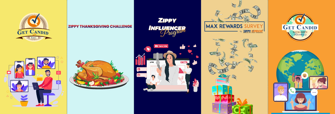 Man connecting digitally, a thanksgiving turkey, an online influencer, money and gifts, people connecting on the internet from all over the world
