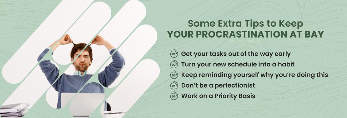 Procrastination tips, Procrastination help