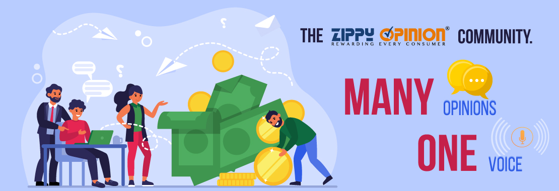 Community, Zippy Opinion, earn together