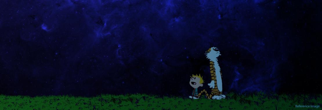 Calvin and Hobbes, Starstruck